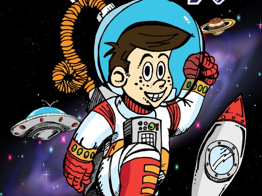 Daxon Spaceman Poster