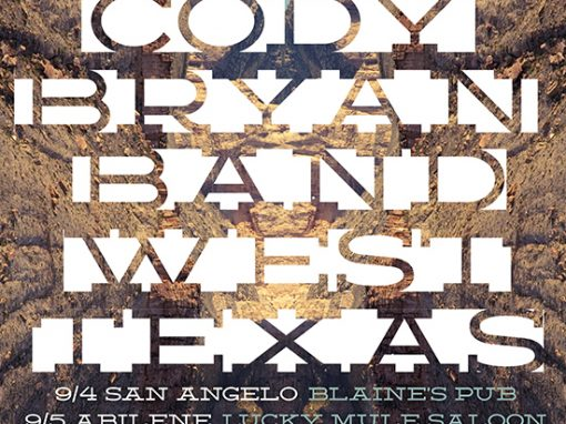 Cody Bryan Band Tour Poster