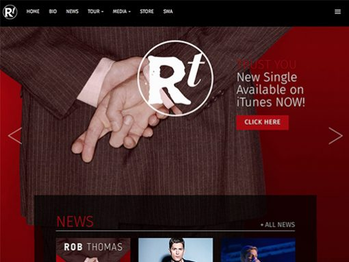 Rob Thomas Website