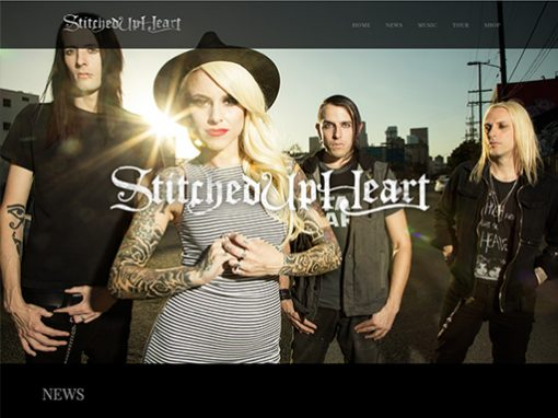 Stitched Up Heart Website