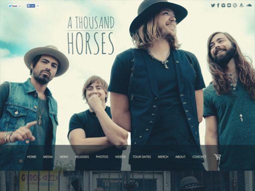 1000 Horses Website