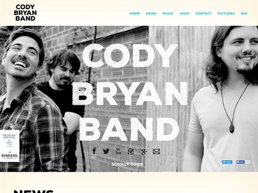 Cody Bryan Band Website