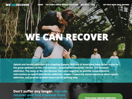 We Can Recover Website
