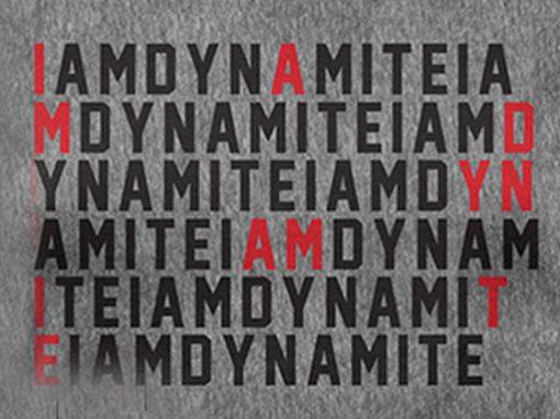 IAMDYNAMITE Name Tee