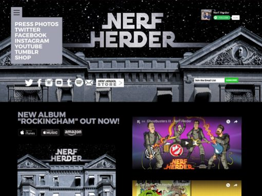 Nerf Herder Website