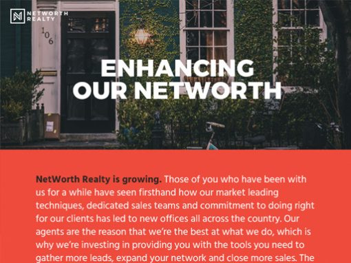 NetWorth Email Design