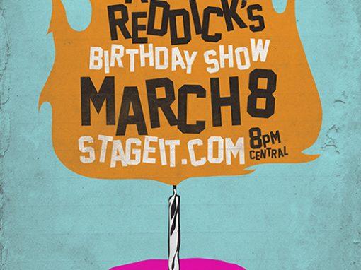 Jaret Birthday Show Poster