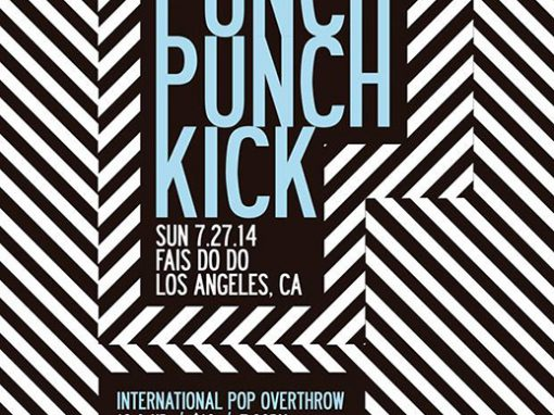 Punch Punch Kick Poster
